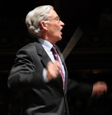 Mike Jackson achieves his ambition to conduct the Hallelujah Chorus at the Royal Albert Hall