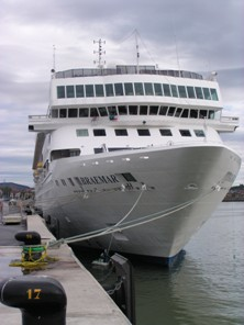 Our cruise ship, MS Braemar