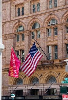 New York's Carnegie Hall, America's most prestigious concert venue (photo@ Jorge Royan, 2005)