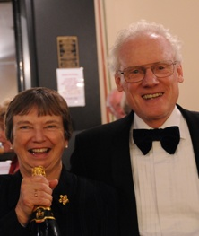 Don and Ann Monro will accept the award on behalf of The Really Big Chorus