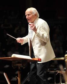 Sir David Willcocks was in fine form for the Celebration Concert held in his honour on 15 May