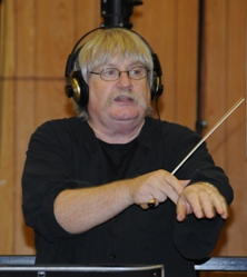 Karl Jenkins at Abbey Road Studios during recordings for The Peacemakers